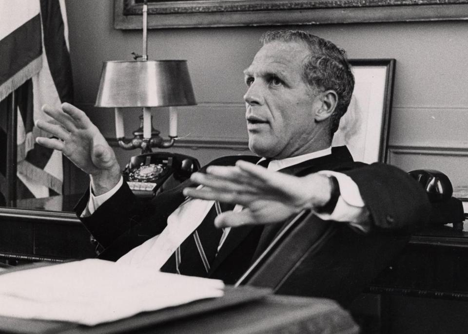 Mayor Kevin White of Boston in 1968. White was mayor until 1984.