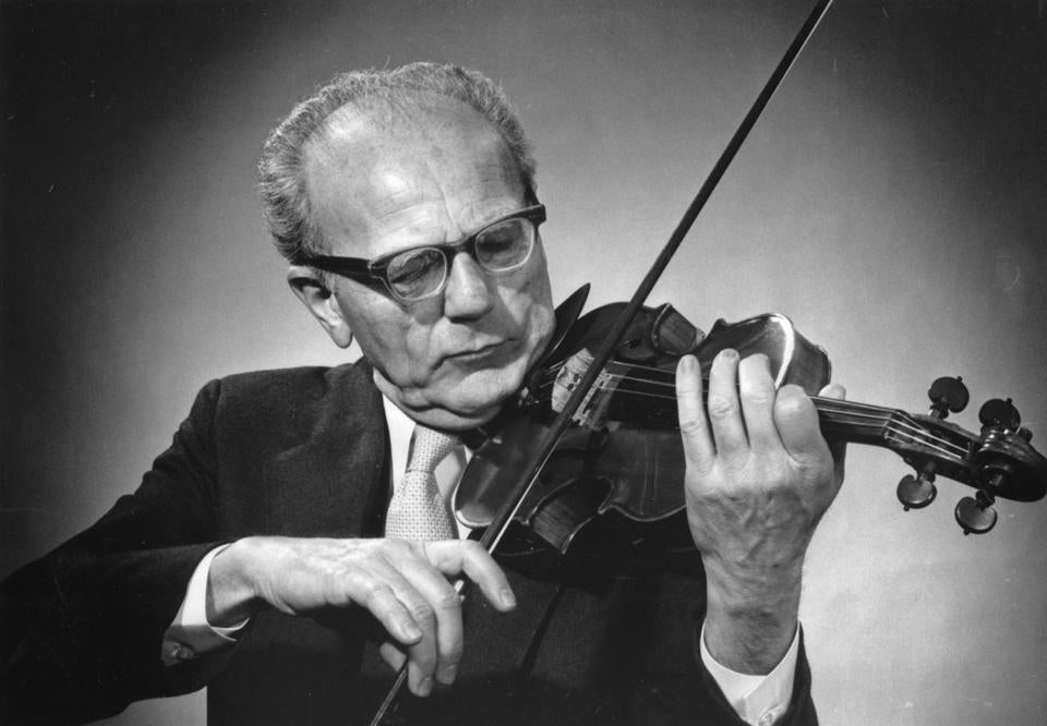 Sheldon Rotenberg played violin with the Boston Symphony Orchestra for more than four decades.