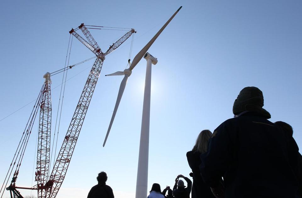 The turbine will undergo two weeks of testing and is expected to begin producing electricity the middle of this month, supplying the town with power at a discounted rate.
