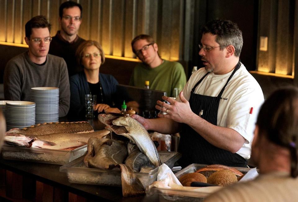 "Jeremy Sewall, chef and co-owner of Island Creek Oyster Bar, led a seminar there last month  titled ""Know Your Fish.'"
