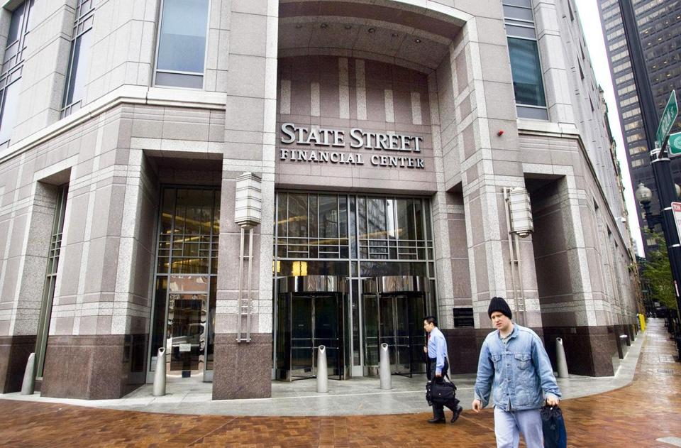 State Street Corp. is based in Boston.