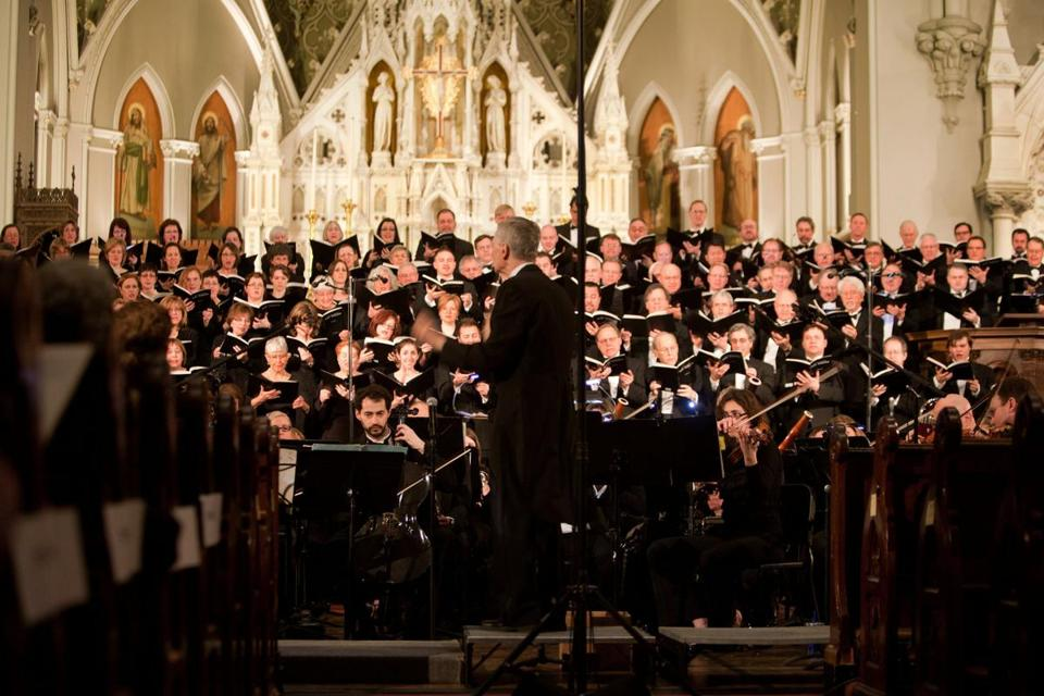 "Richard Pittman conducted the ""War Requiem'' Saturday at the Cathedral of the Holy Cross with the New England Philharmonic along with with three choral groups and soloists."