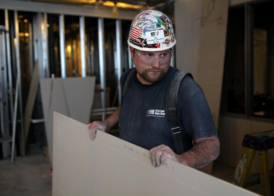 ''It's everything,'' says Brian Donoghue of the Boston area's development projects. He has struggled to find work.