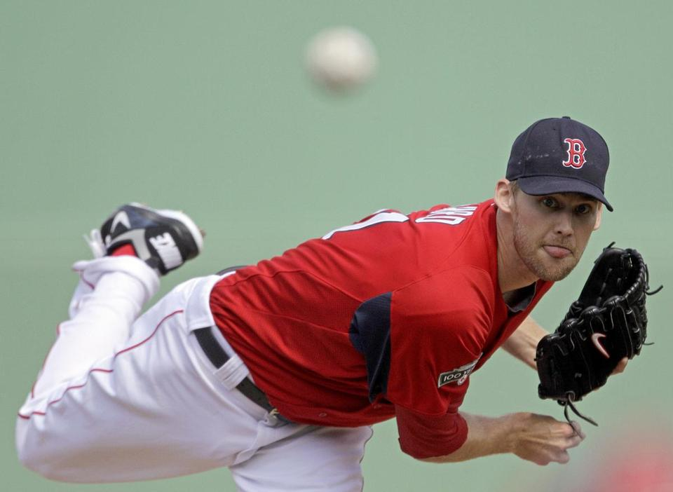 Daniel Bard is hoping to sew up a spot in the Red Sox starting rotation.