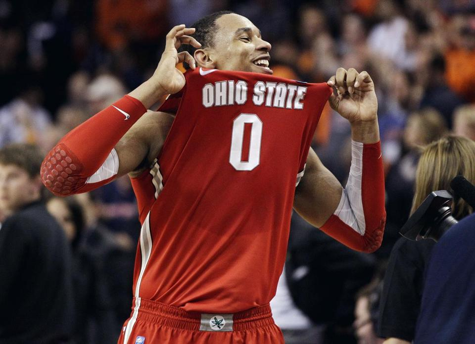 Ohio State forward Jared Sullinger scored 15 of his 19 points in the second half.