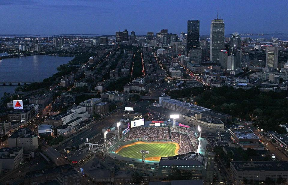 Fenway Park Celebrating The 100th Anniversary Of Its Opening Has Served As A Landmark