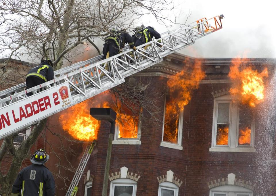 More Than 140 Firefighters Responded To A Blaze Sunday At 330 Chelsea St In East