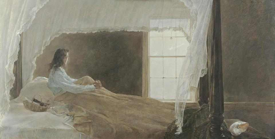 Art Review Andrew Wyeth And James Welling At Wadsworth