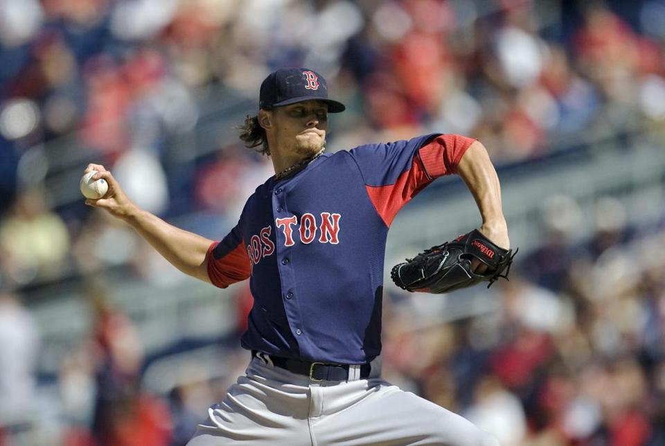 Clay Buchholz will be looking to get the Red Sox a victory after Saturday's 10-0 loss dropped them to 0-2.
