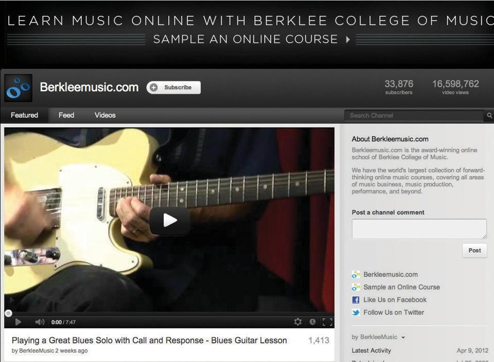 Berklee essay prompt 2012