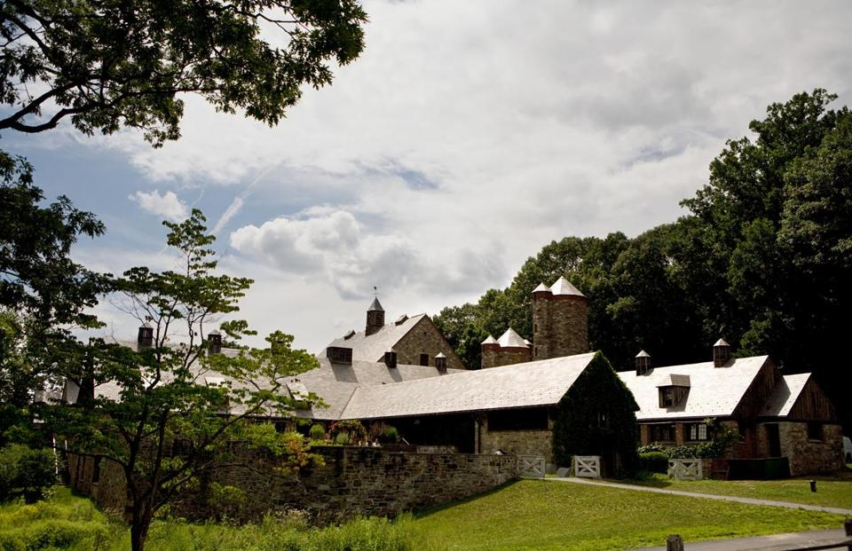 At Blue Hill at Stone Barns restaurant in Pocantico Hills, N.Y. ...