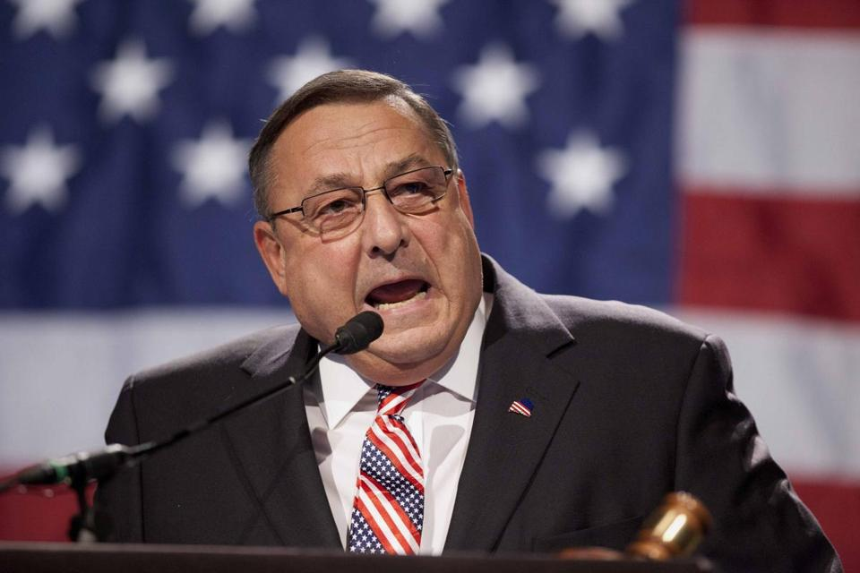 Governor Paul LePage will not meet with Democratic leaders until the cameraman is removed.