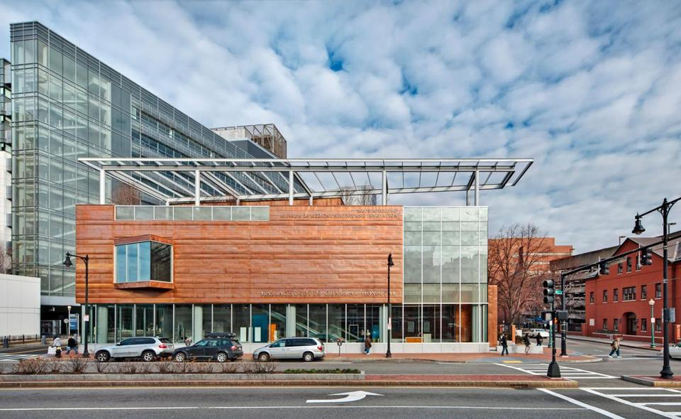 Leers Weinzapfel Associates designed the Paul S. Russell, MD Museum of Medical History and Innovation, at Massachusetts General Hospital.