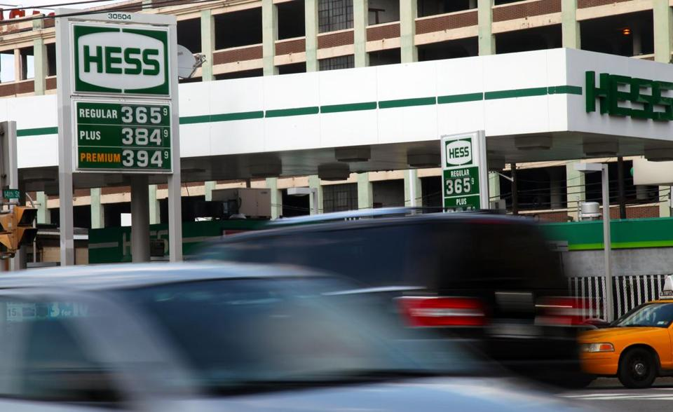 A Hess station in Hoboken, N.J.