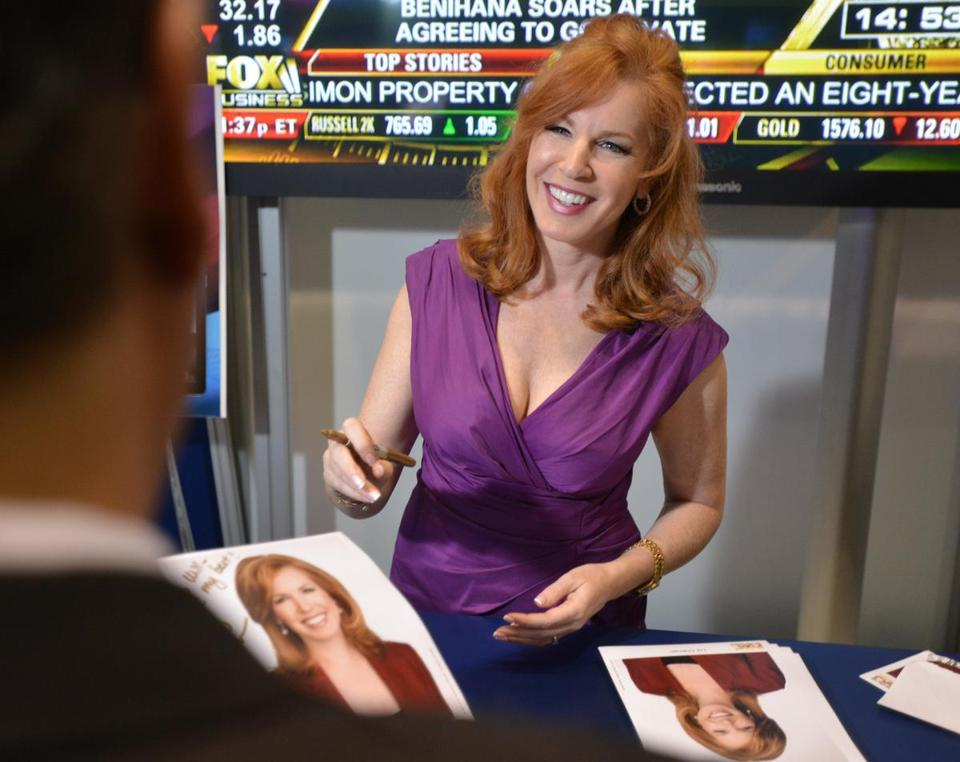 Liz Claman Comes Back To Familiar Turf The Boston Globe