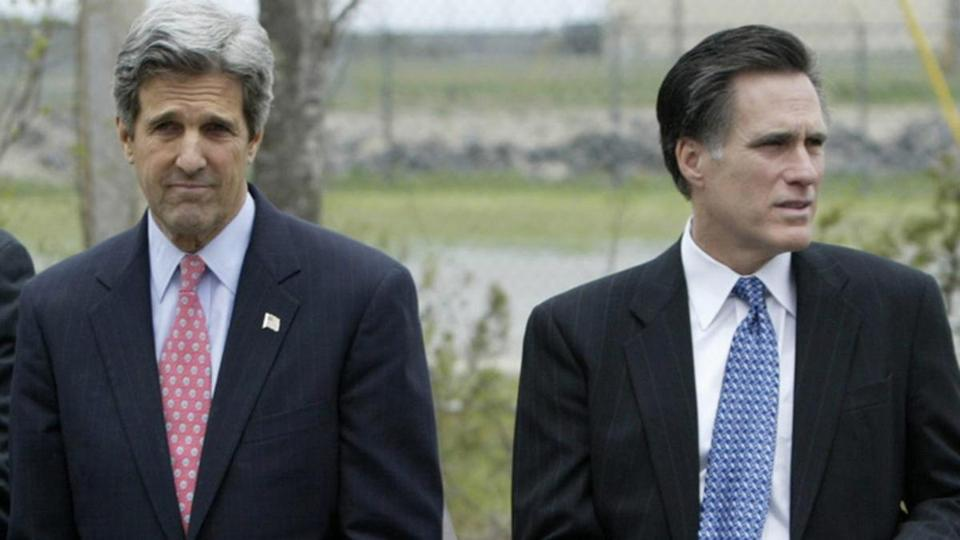 Senator John Kerry and Mitt Romney, the former Bay State governor, have not developed much of a relationship.