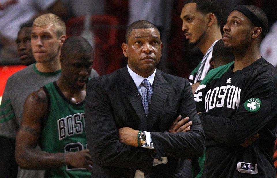Doc Rivers and the Celtics fell into a 2-0 series hole after Wednesday's loss.