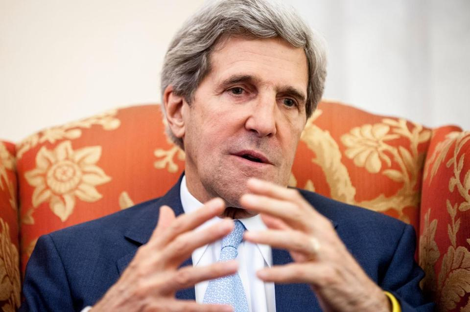 """We're not here seeking a limitation on spending; we ought to be, but we're not,"" Senator John Kerry, a Massachusetts Democrat, said in a floor speech before the vote."