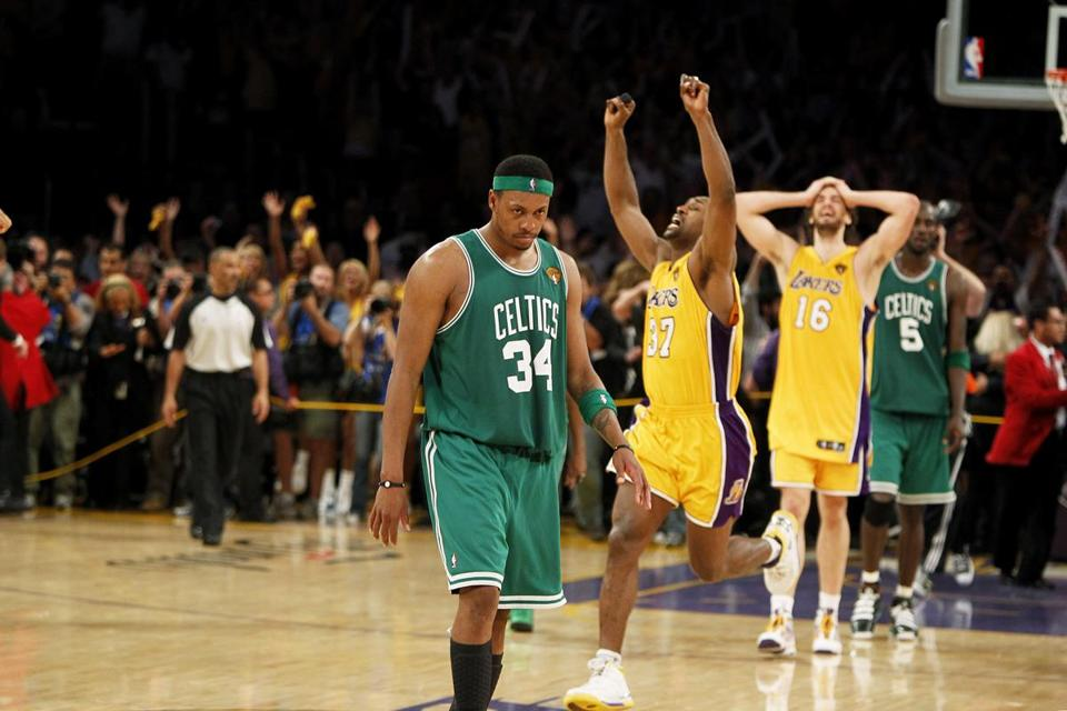 Image result for celtics lose nba finals 2010