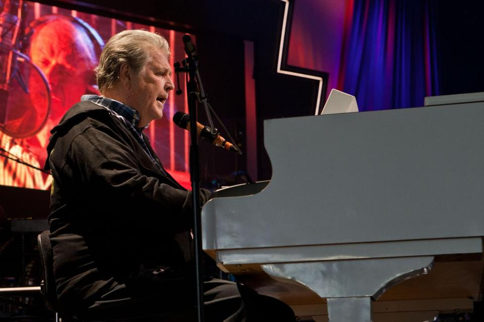 "Brian Wilson of the Beach Boys, whose ""That's Why God Made the Radio"" is a fan favorite."