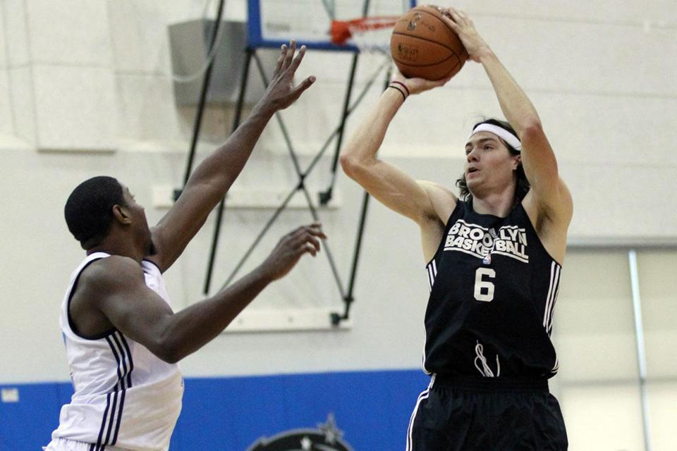 Adam Morrison (right) hasn't played in the NBA in two years and it's been more than three since he scored at least 10 points in a game.