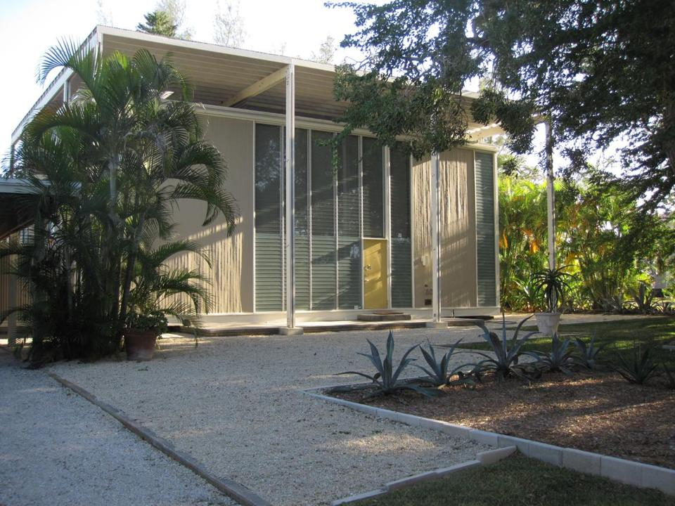 The Umbrella House in Sarasota, Fla., designed by Paul Rudolph.