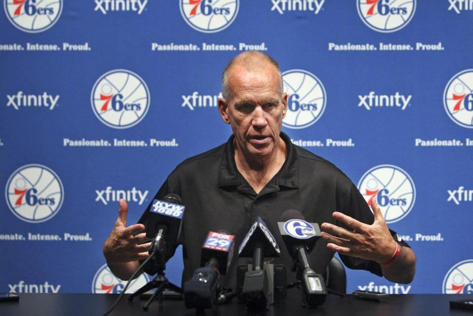 Team president Rod Thorn and coach Doug Collins (above) overhauled the 76ers roster.
