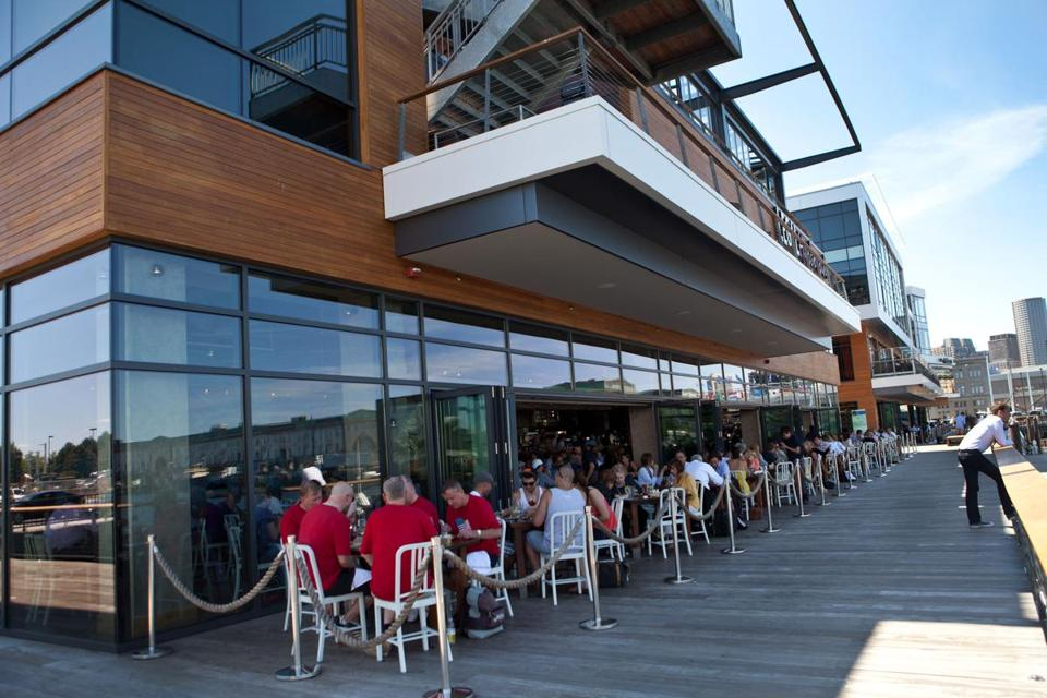 Liberty Wharf S Restaurants Have Been Drawing Crowds Since The Harborside Complex Opened In South Boston