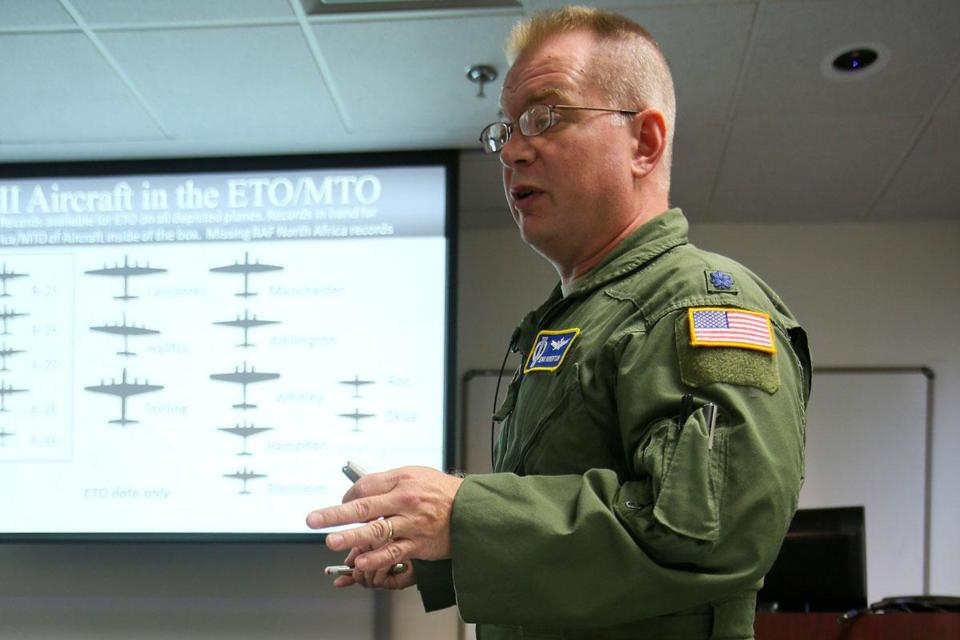 Lieutenant Colonel Jenns Robertson's project is aiding efforts to spot unexploded bombs that still endanger civilians.