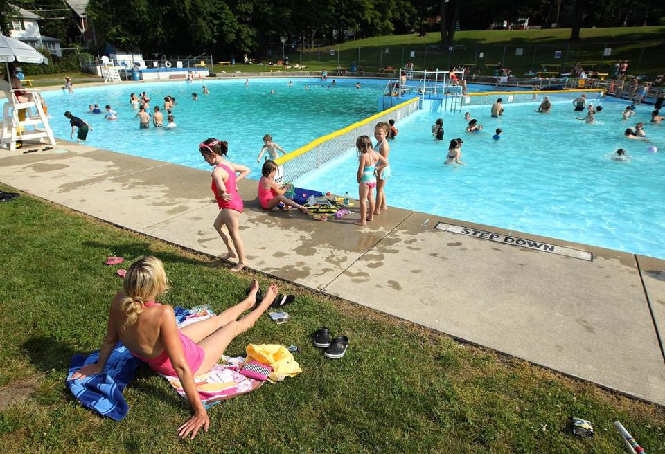Belmont's Underwood Pool said to be the oldest outdoor pool in America.