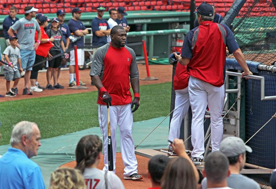 With few additions made at the trading deadline, the Red Sox can now look forward to David Ortiz's expected return from the disabled list.
