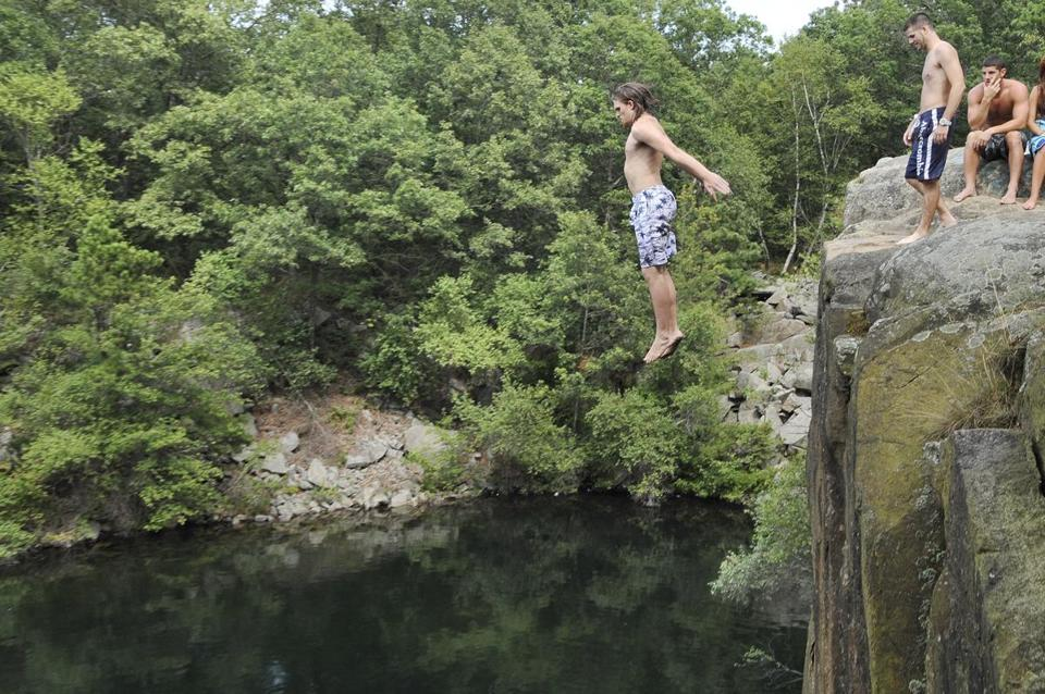 Cape Ann Quarries Test Generations Of Jumpers The Boston