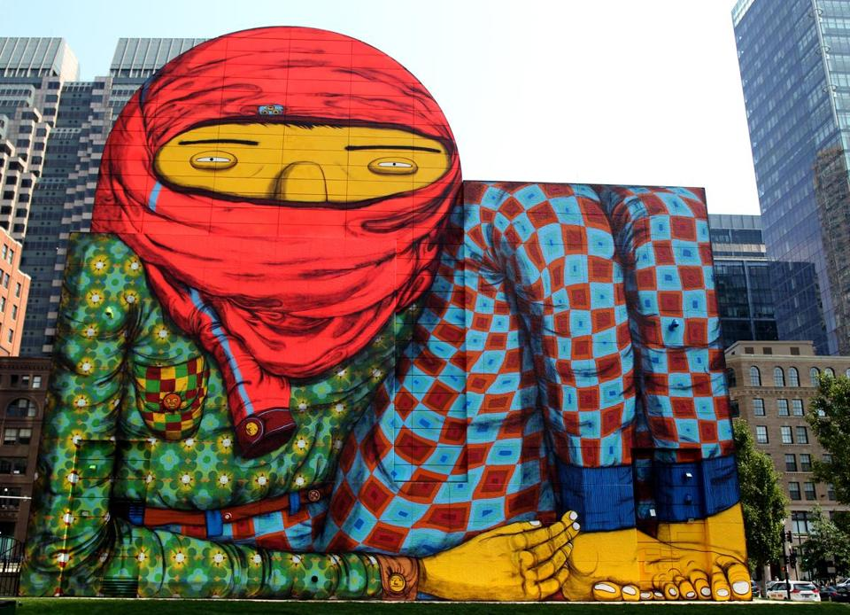 Strolling Through The Ruins Of Street Art With Os Gemeos The