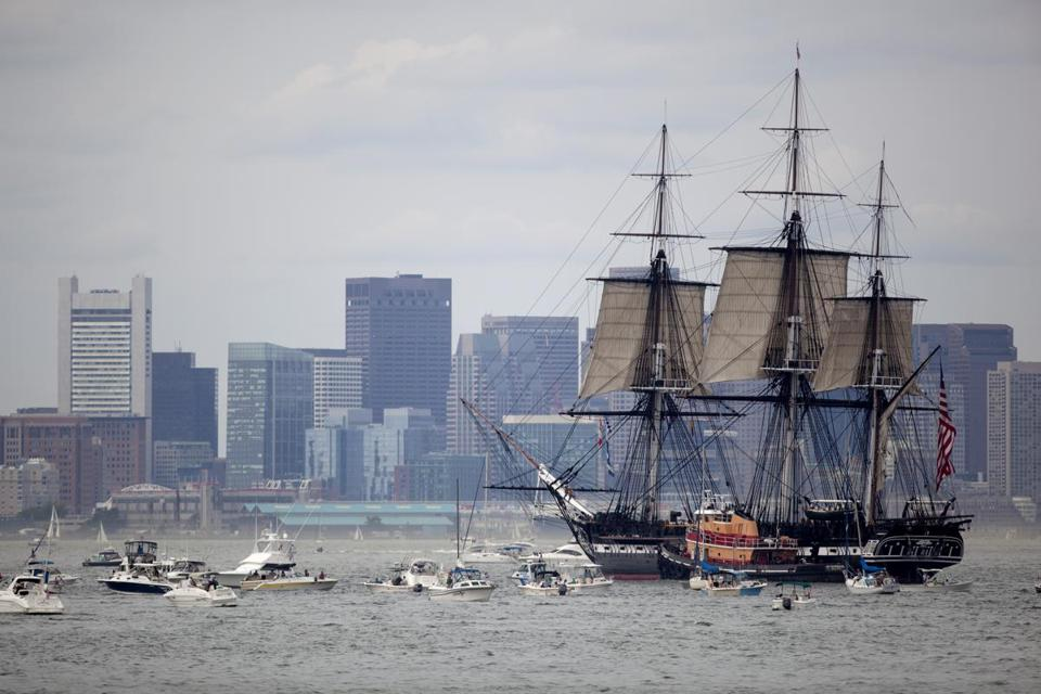 The USS Constitution will go into dry dock in 2015, placed on stilts so crews can perform restoration work.