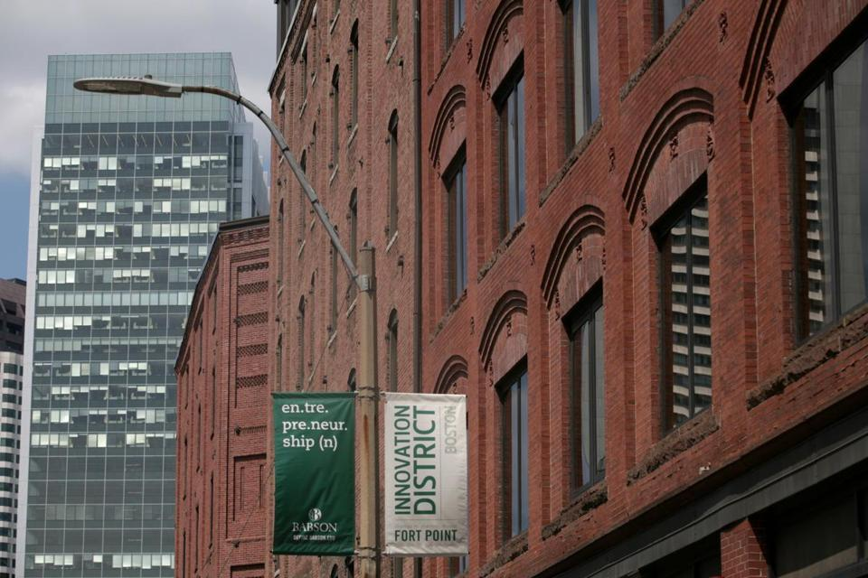 Congress Street is located in the heart of what has been named Boston's innovation District.