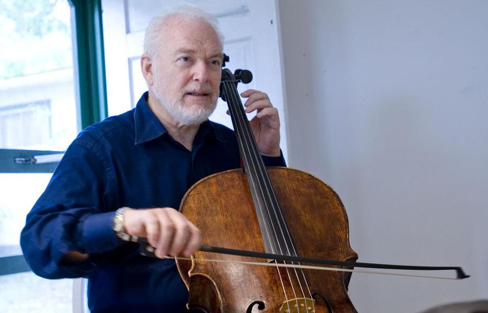 Cellist Paul Katz.