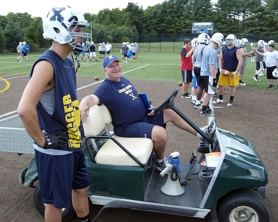 Xaverian coach Charlie Stevenson was a key figure in pushing through the new playoff system that will crown six state champions instead of 19.