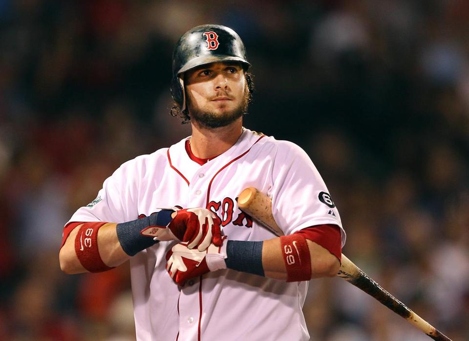 Jarrod Saltalamacchia gives the Red Sox one of the most productive offensive catchers in MLB.