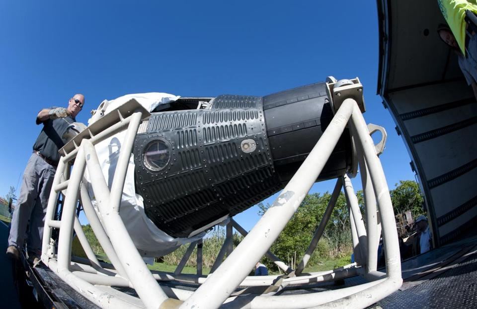 Freedom 7 space capsule to be displayed at JFK Library ...