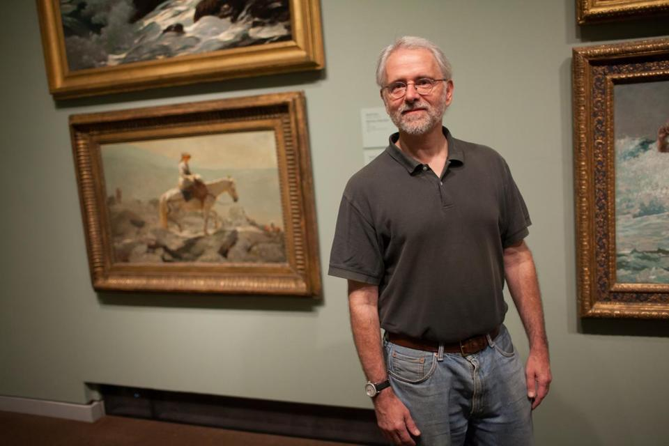 Marc Simpson contributed to the catalog for the Winslow Homer exhibit now at the Portland Museum of Art.
