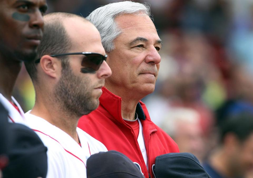 Dustin Pedroia and Bobby Valentine never seemed to be able to outrun negative vibes around the Red Sox in 2012.