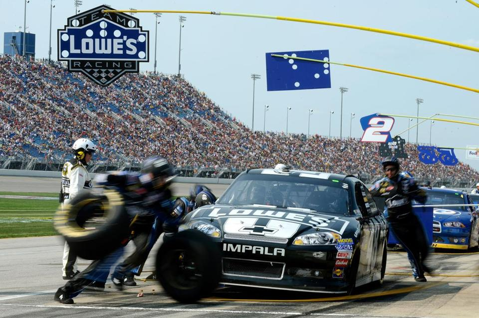 Jimmie Johnson will be looking to improve his standing in the points at New Hampshire.
