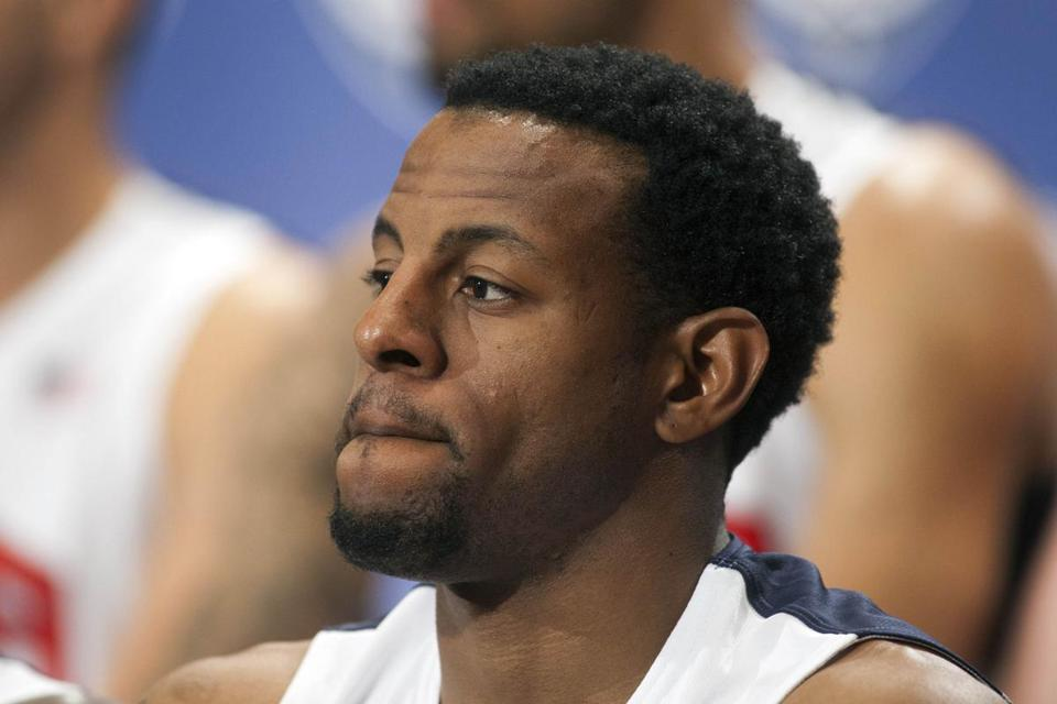 The Nuggets and 76ers became players in the deal between the Magic and Lakers for Dwight Howard, and Denver  came away with Philadelphia's most coveted piece, Andre Iguodala (above).