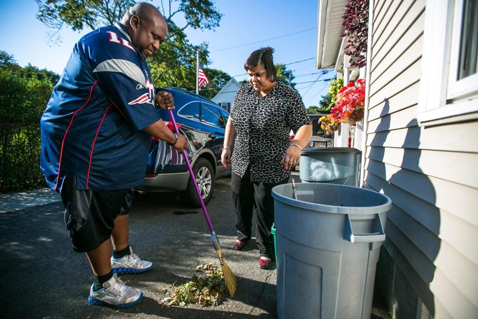 Donald and Stacey Dobbins sought financial help so they could keep their Brockton home.