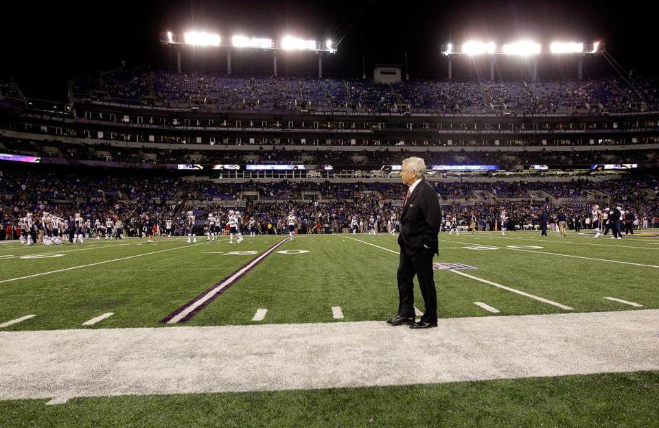 Robert Kraft played a big role in the league's deal with Yahoo! coming together.