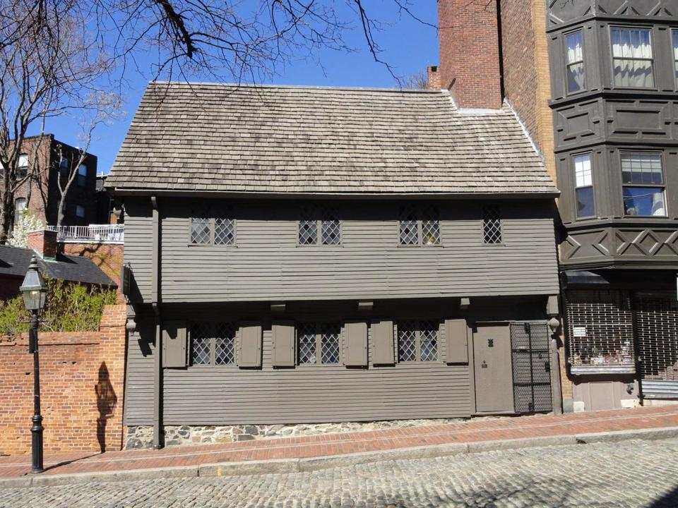 Paul Revere's house in Boston's North End.