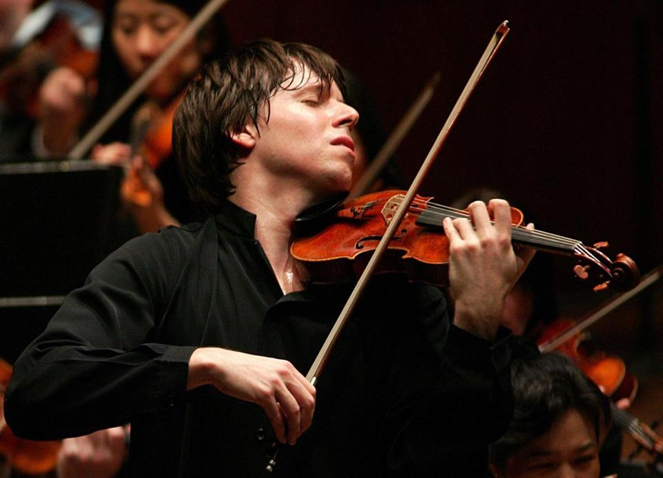 """I've probably played with hundreds of conductors and I've learned from the bad ones and the good ones,'' says Joshua Bell."