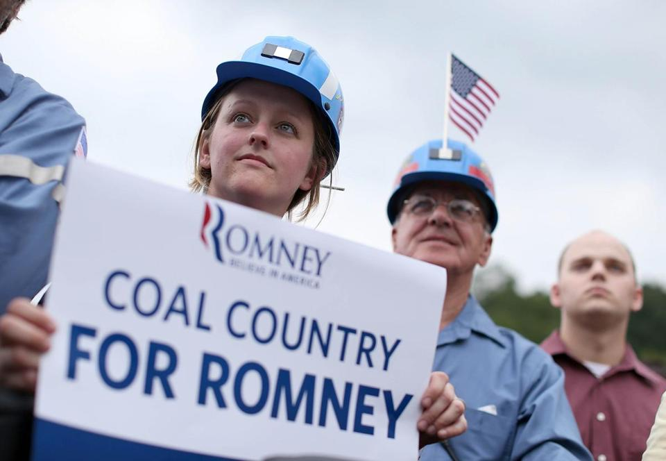 Mitt Romney's comments during the campaign helped give coal stocks a month or so of strong advances.