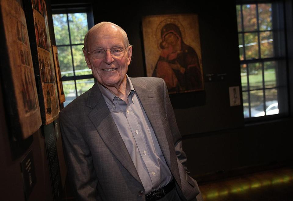 Gordon B. Lankton is the founder of the Museum of Russian Icons and the Gallery of African Art, in Clinton.
