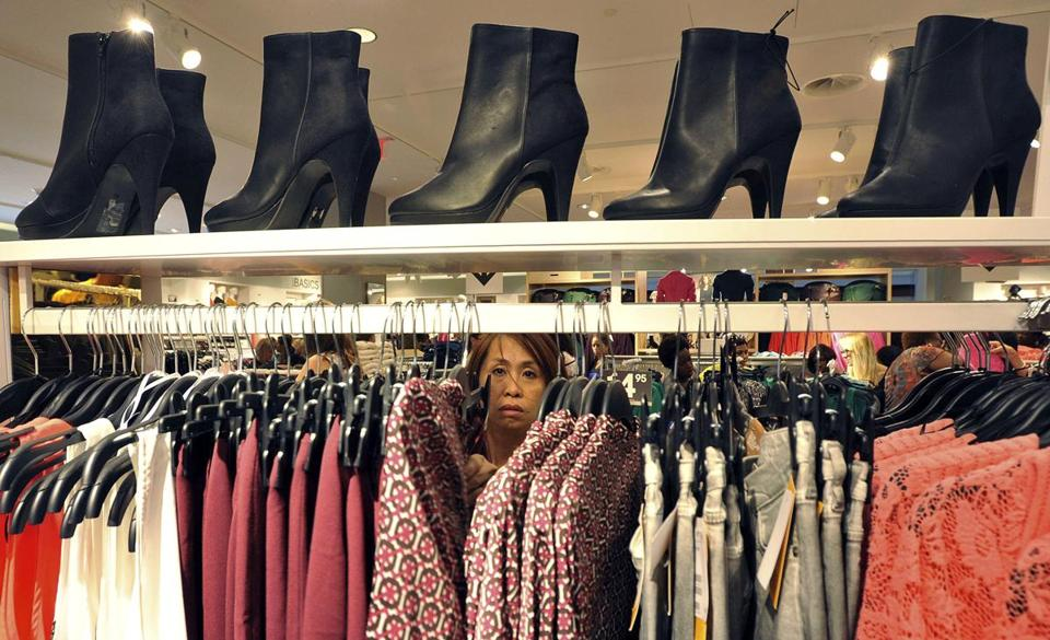 A woman shopped at The Avenues Mall in Jacksonville, Fla., in September, the month for which the Commerce Department reports a 1.1 percent jump in retail sales.